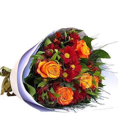Flower Bouquet Sunset