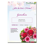 "Flower Gift Certificate ""Muttertag"""
