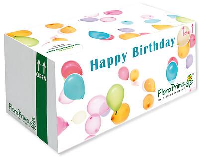 """Geschenkverpackung """"Happy Birthday"""""""