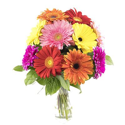 Flower Bouquet Gerbera Dream