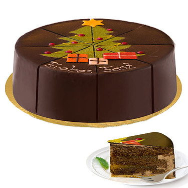 "Dessert Cake ""Frohes Fest"""