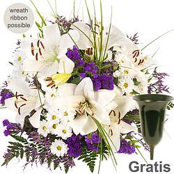 Sympathy Bouquet Von Herzen