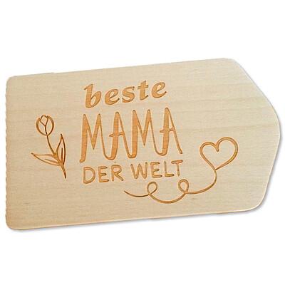 "Frühstücksbrettchen ""Beste Mama der Welt"""