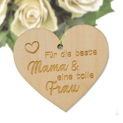 """Blumenstecker """"Für die beste Mama..."""""""