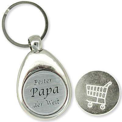 "Schlüsselanhänger ""Bester Papa der Welt"""
