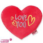 """Herzkissen """"Love you"""" (25cm)"""