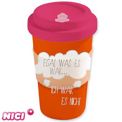 """Coffee-to-Go-Cup """"Ich mag nicht..."""""""