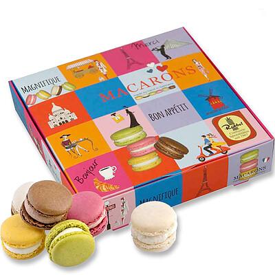 """Präsentpackung Macarons """"Paris"""""""