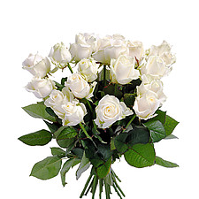 Weißer Rosenstrauß