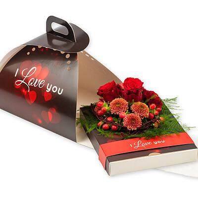 "Geschenkbox ""I love you"""