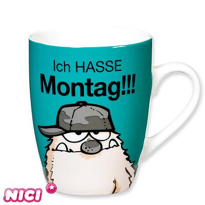 """Tasse """"ICH HASSE Montag!!!"""""""