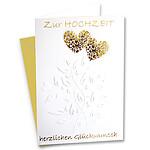 """Motivkarte """"Zur Hochzeit herzlichen Glückwunsch"""""""