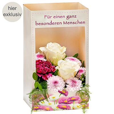 """Blumenfenster """"Besonderer Mensch"""""""
