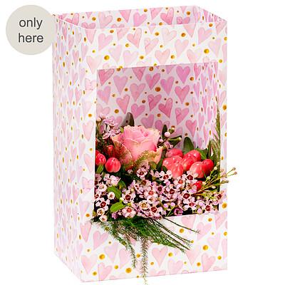 """Flowers in a window box """"Herzensangelegenheit"""""""