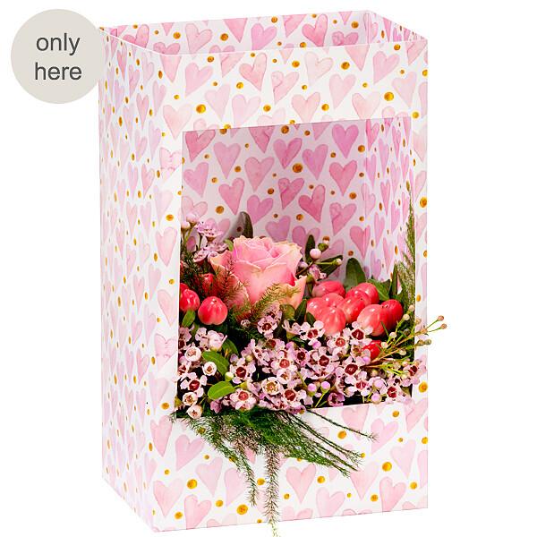 Flowers in a window box