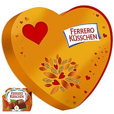 Ferrero Küsschen Geschenkherz (124g)