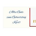 Detail Innenseite/Grußtext
