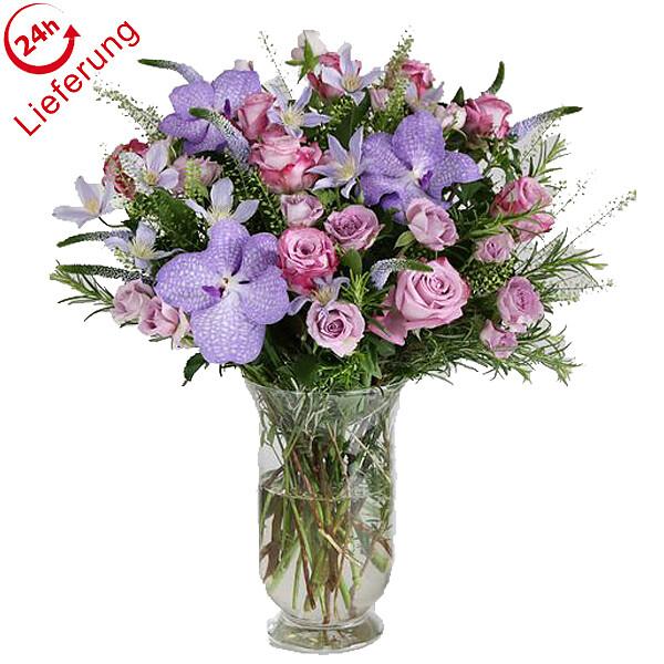 Blumenstrauß Violett