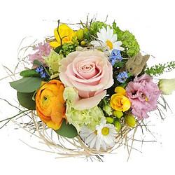 Flower Bouquet Happy Easter