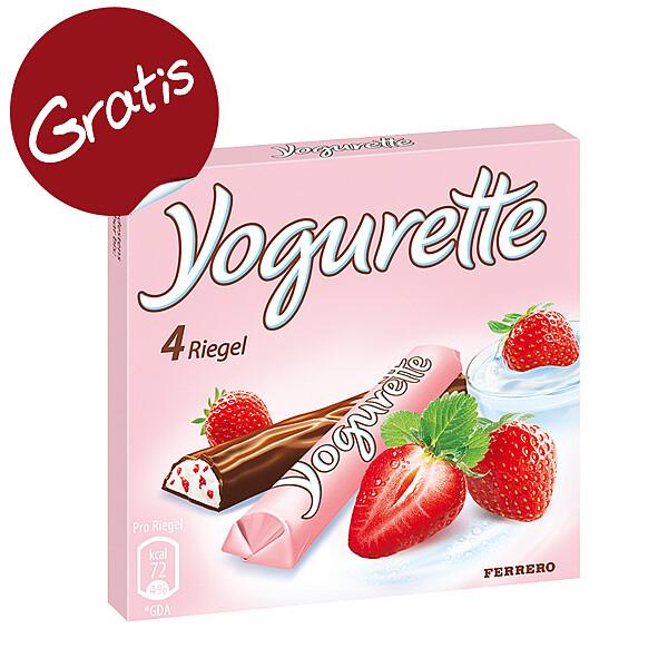 Ferrero Yogurette 4er Riegel (50g)