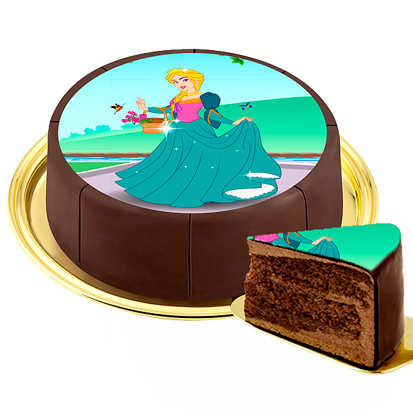 "Motif Cake ""Princess"""
