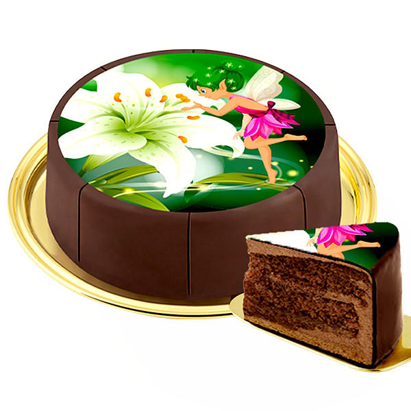 "Dessert Motif Cake ""Fairy"""
