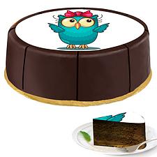 """Motif Cake """"Owl"""""""