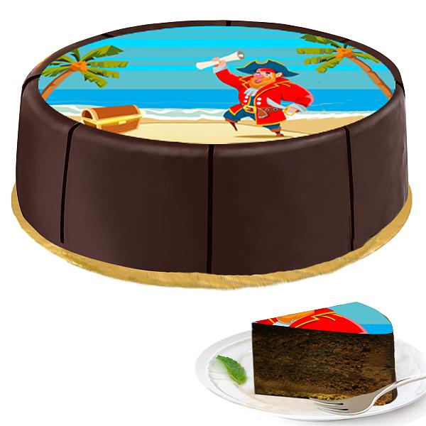"""Motiv-Torte """"Pirat"""""""
