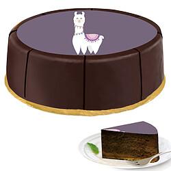 """Motiv-Torte """"Lama"""""""