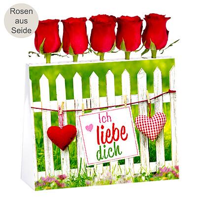 """Rosenensemble """"Ich liebe dich"""""""
