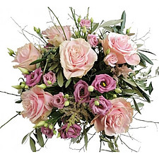 Blumenstrauß Rosenromantik
