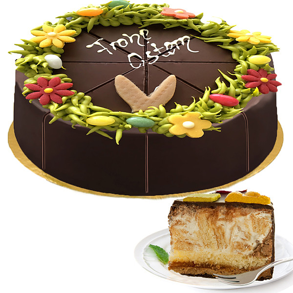 """Egg liqueur cake """"Frohe Ostern"""""""