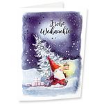 """Motivkarte Weihnachtswichtel """"Frohe Weihnachten"""""""