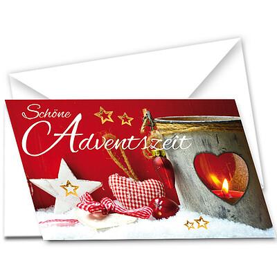 """Motivkarte """"Schöne Adventszeit"""""""