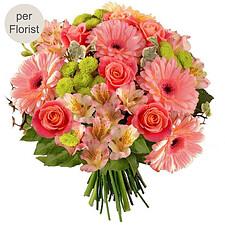 Blumenstrauß Zuckerwatte