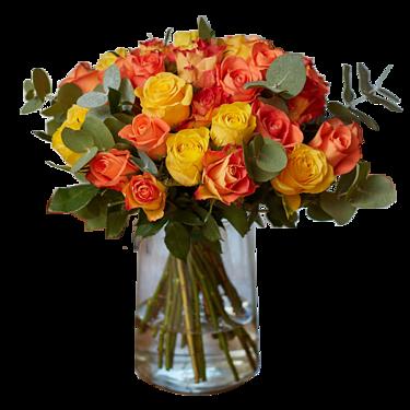 Rose Bouquet Sunrise