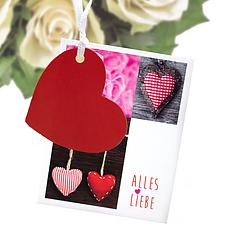 """Blumenstecker zum Aufstellen """"Alles Liebe"""""""
