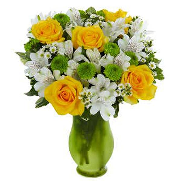 Lovely Lemon & Lime Roses