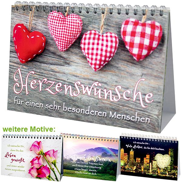 """Tischkalender """"Herzenswünsche"""""""