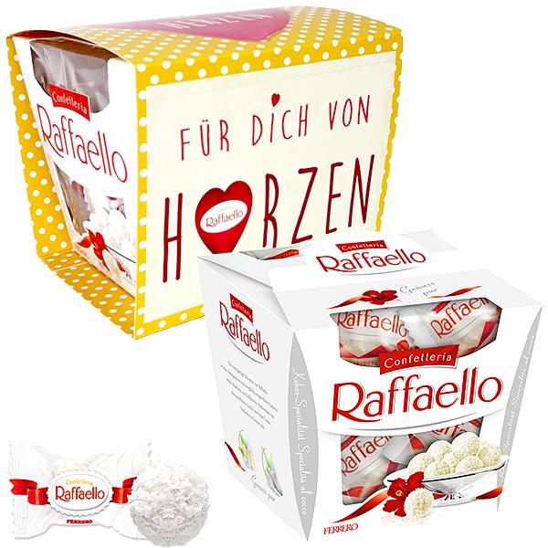 """Raffaello mit Banderole """"Für Dich von Herzen"""""""