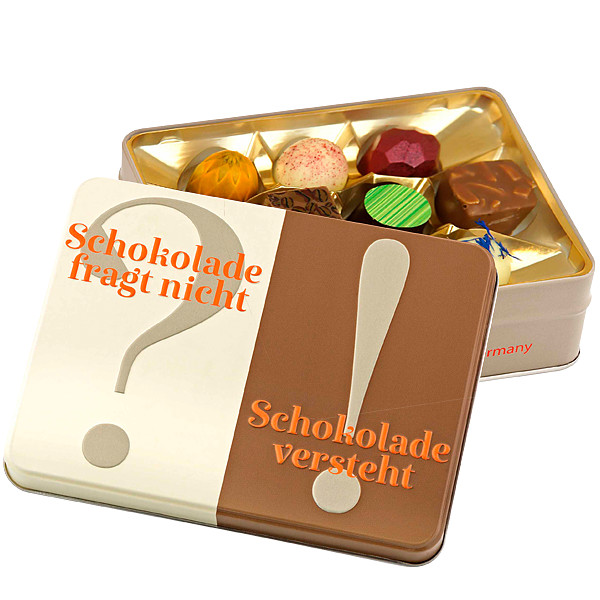 """Gift box """"Chocoalte don't ask..."""""""
