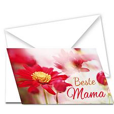 "Grußkarte ""Beste Mama"""