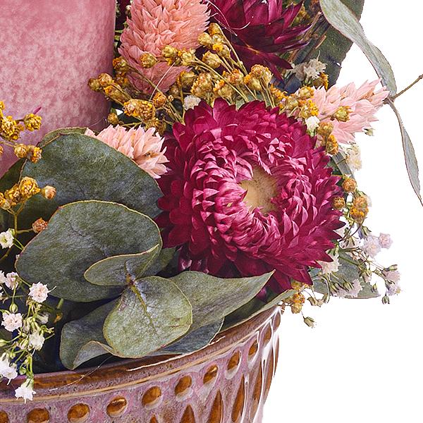 Kerzen-Arrangement Frühlingslied