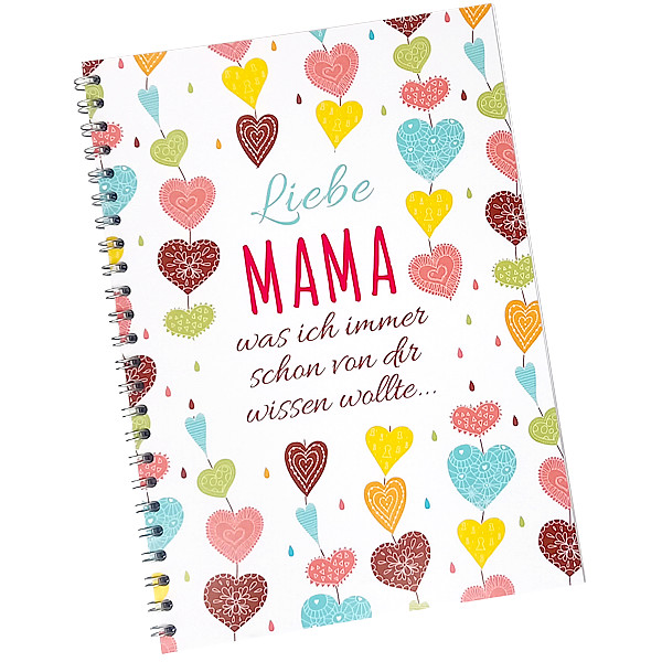 Mama-Buch zum Ausfüllen