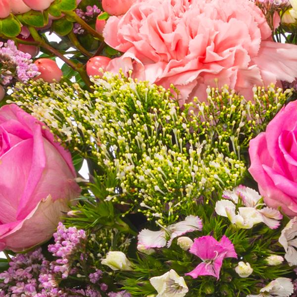 Wiesenstrauß Sommermärchen mit Vase