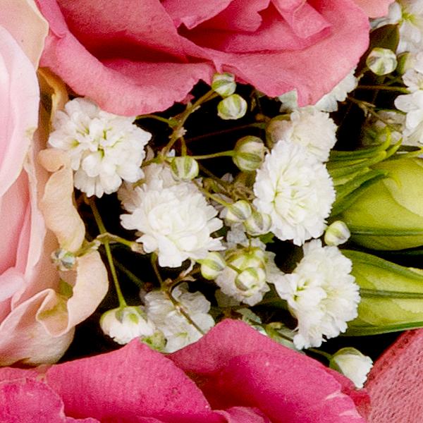 Blumenherz Herzensfreude mit Ferrero Raffaello