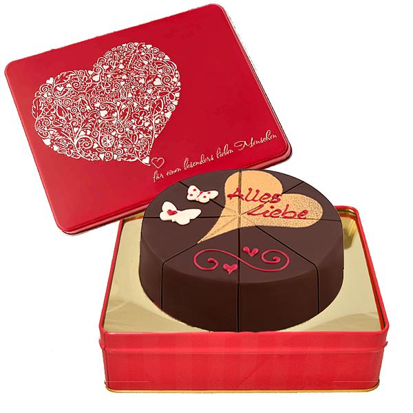 Dessert-Sachertorte Alles Liebe