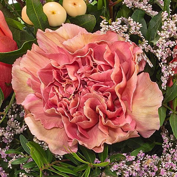 Blumenstrauß Lebensfreude mit Vase