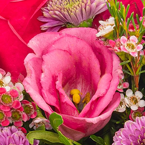 Blumenarrangement Herbstmärchen mit Ferrero Raffaello
