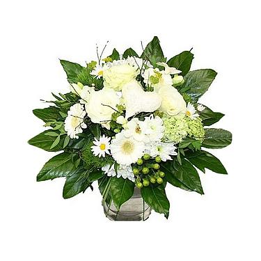 Flower Bouquet Weiße Perle